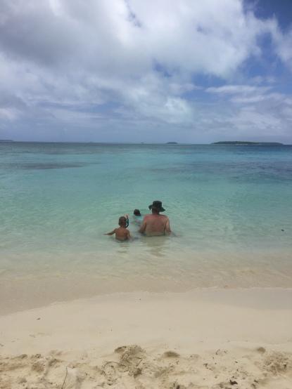 Desert island bliss